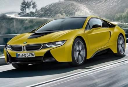 BMW i8 va primi un facelift in 2018