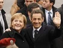 Intalnirea Sarkozy-Merkel se...