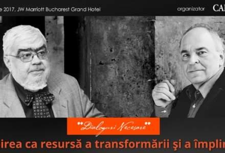 (P) Iubirea ca resursa a transformarii si a implinirii, o intalnire eveniment cu Andrei Plesu si Gabriel Liiceanu