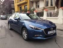 Test drive cu Mazda 3 sedan...