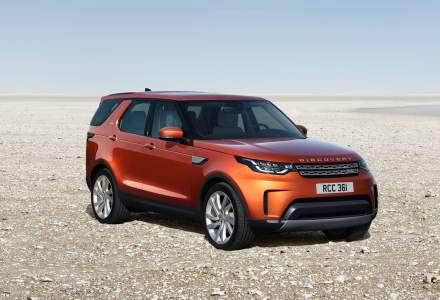 Land Rover Discovery este disponibil spre vanzare in Romania din martie