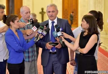 Comisia PSD de monitorizare a activitatii Guvernului Grindeanu, formata din Dragnea, Fifor, Neacsu, Firea, Serban Nicolae