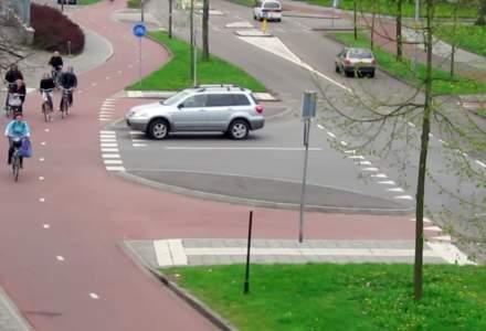 Cum au gandit olandezii infrastructura pentru a determina populatia sa renunte la masini si sa foloseasca biciclete