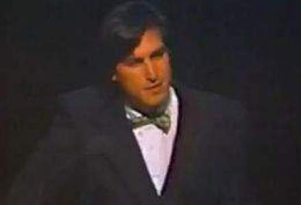 Clipul pierdut din 1984: Steve Jobs prezinta, in premiera, Macintosh-ul [VIDEO]