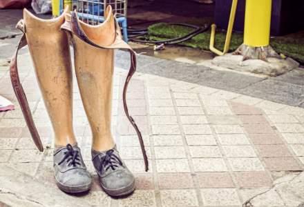 Romania frectiei la picior de lemn