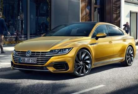 Noul VW Arteon vrea sa fure clientii modelelor BMW Seria 5, Mercedes-Benz Clasa E