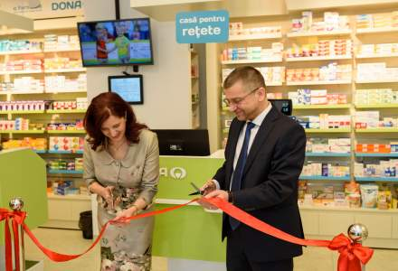 Farmacia Dona continua programul de extindere depasind pragul de 300 de farmacii