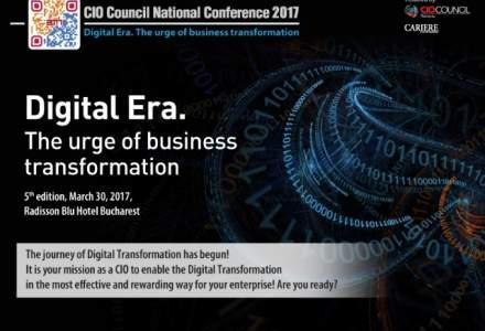 (P) Conferinta Nationala a Managerilor de IT din Romania, editia a V-a