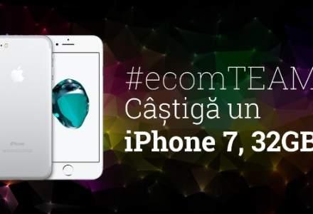 Castiga un iPhone 7 la ecomTEAM 2017