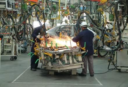 Activitatea din industria romaneasca si-a revenit dupa patru luni de declin