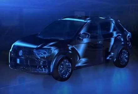Prima imagine cu viitorul Volkswagen T-Roc: un Tiguan mai mic cu motorizari preluate de la Polo si Golf