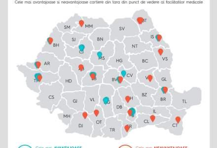 Oradea, Brasov si Timisoara, orasele cu cele mai bune facilitati medicale din Romania