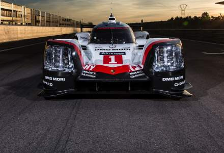 Porsche prezinta noul 919 Hybrid, prototipul realizat pentru Le Mans