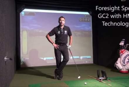 """GolfRoom, pentru ca tehnologia complexa de simulare """"bate Nintendo Wii"""""""