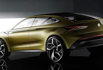 Skoda prezinta la Salonul Auto din China conceptul primului model electric din portofoliu