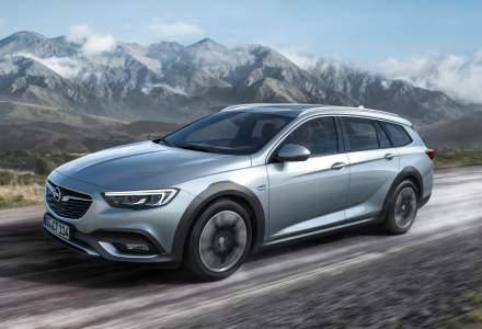 Opel Insignia Country Tourer vine cu tractiune integrala si garda la sol mai inalta