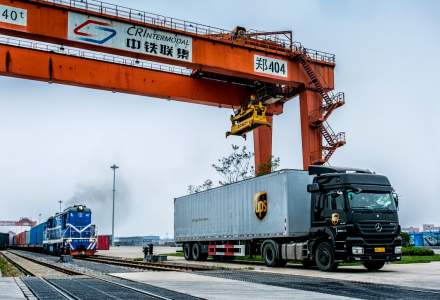 UPS extinde serviciul feroviar China - Europa