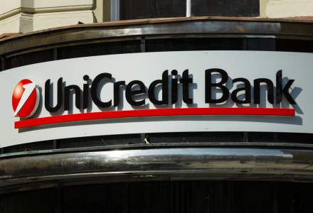 UniCredit Bank a obtinut venituri nete din dobanzi in crestere cu 13% anul trecut, iar profitul operational a crescut puternic