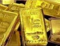 Pretul aurului a scazut cu...