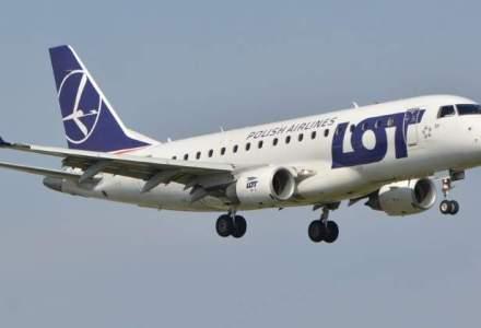 LOT creste capacitatea in Romania. Circa 45% dintre romani zboara la Varsovia pentru zboruri de conexiune
