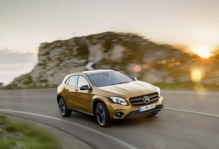 Mercedes-Benz GLA primeste un facelift si noi motorizari. Pretul de pornire este de 29.300 euro