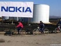 Angajatii de la fabrica Nokia...