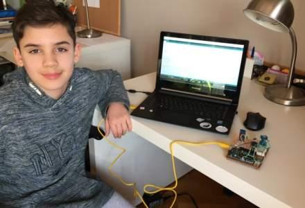 La 12 ani, romanul Andrei Covaci a fost premiat in cadrul Future Markers