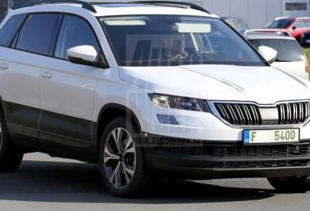 Skoda prezinta pe 18 mai SUV-ul compact Karoq