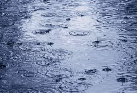 Informare meteo: Ploi torentiale, vijelii si grindina in aproape toata tara
