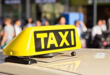 """Cluj: 300 de taximetristi au protestat fata de """"concurenta neloiala practicata de Uber"""""""