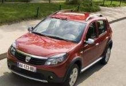 Dacia a scazut cu 23% in Franta, in primele 9 luni