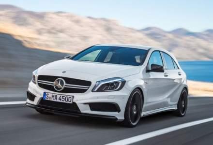 Viitoarea generatie Mercedes-AMG A45 va avea peste 400 de cai putere