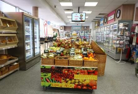 Auchan a deschis primul sau magazin dintr-o benzinarie, in statia Petrom Militari