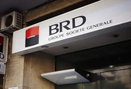 BRD a inregistrat o crestere de aproape cinci ori a profitului net in primul trimestru, pana la 307 milioane lei