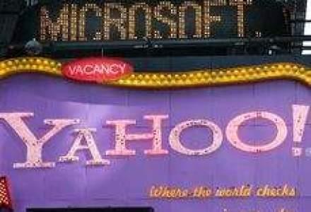Microsoft este interesat din nou sa cumpere Yahoo