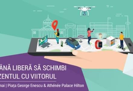 (P)Bucharest Technology Week: robot umanoid, masini electrice si summituri cu experti internationali