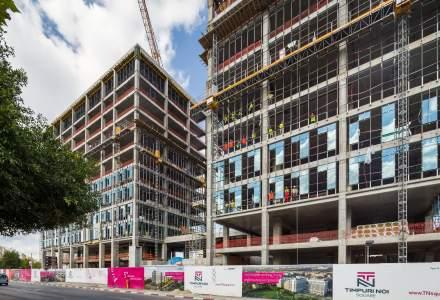 Primele doua cladiri ale Timpuri Noi Square, aproape finalizate: CBRE preia managementul proiectului Vastint