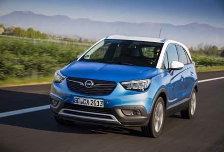 Opel a anuntat preturile SUV-ului de mici dimensiuni Crossland X pentru Romania. Costa de la 12.920 euro cu TVA