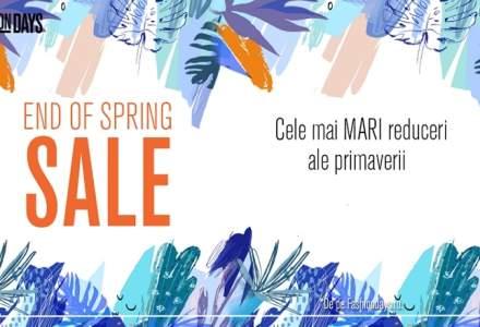 Cele mai mari reduceri in fashion, dupa Black Friday: End of Spring Sale la sute de produse de la branduri internationale
