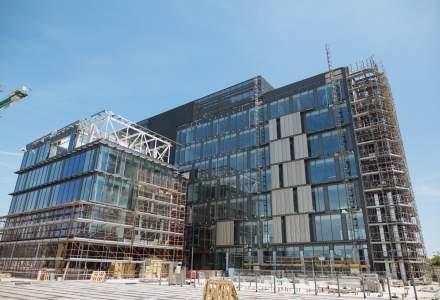 LIDL si Skanska avanseaza cu lucrarile proiectului de birouri din zona Aviatiei, constructie care se va finaliza pana la sfarsitul acestui an: cum va arata una dintre cele mai eco cladiri office din Europa