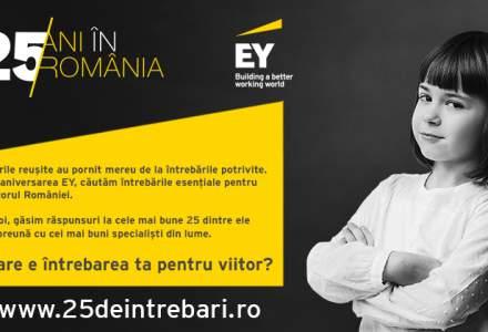 (P) EY Romania lanseaza platforma de idei 25deIntrebari.ro si cauta intrebarile pentru viitorul Romaniei