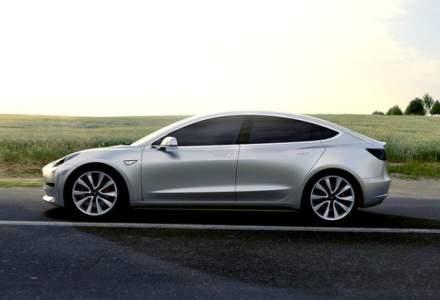 Primele detalii tehnice despre Tesla Model 3: autonomie de 350 km, 5.6 secunde pentru 0-96 km/h