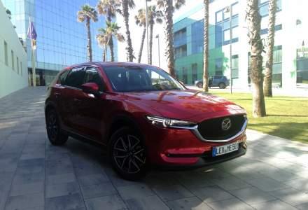 Test cu noua generatie Mazda CX-5, un SUV mult mai business decat in trecut