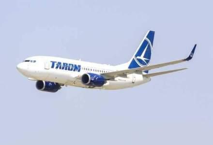O aeronava Tarom care circula de la Frankfurt la Bucuresti a aterizat la Timisoara dupa aprinderea unui senzor