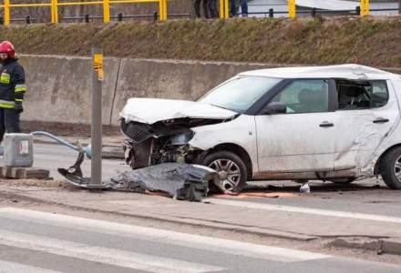 Cinci raniti intr-un accident produs pe DN1, la intrarea in Sinaia