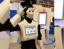 Primul robot politist...