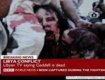 Fotografie SOCANTA cu Gaddafi...