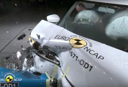 Masini noi testate de Euro NCAP: doua modele au primit 3 stele