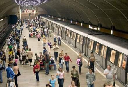 Opt statii de metrou se inchid pana la sfarsitul lunii iunie pentru lucrari de modernizare