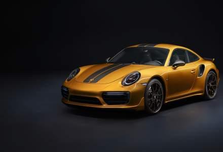 Porsche lanseaza un nou model in editie limitata, 911 Turbo S